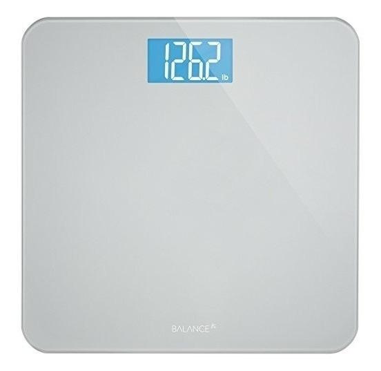 Digital Peso Corporal Báscula De Baño Por La Balanza, Gran V