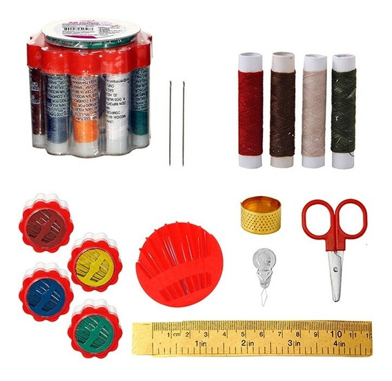 Kit De Costura Prático Para Reparos De Emergência