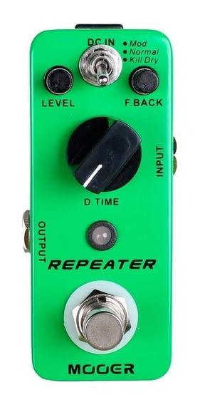 Repeater Mdl1 Mooer Micro Pedal De Delay Nf E Garantia