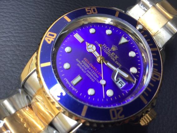 Relógio Masculino 45mm Prata / Dourado , Promoção