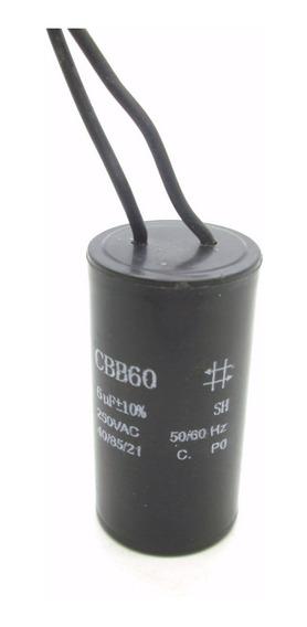 Capacitor De Partida Para Motor 6uf/250v Cbb60 Alltech