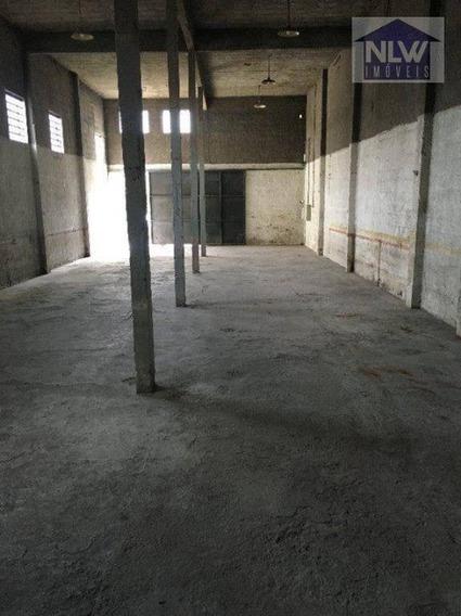 Terreno Para Alugar, 408 M² Por R$ 3.400/mês - Vila Nogueira - Diadema/sp - Te0007