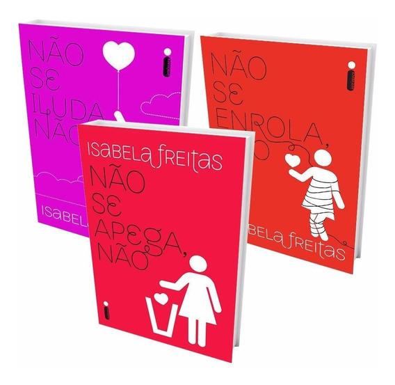 Kit Livros - Não Se Apega + Não Se Iluda + Não Se Enrola