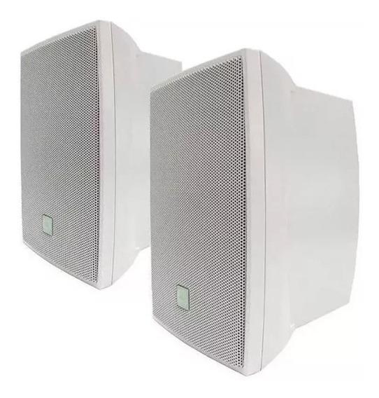 Caixa De Som Ambiente Jbl C521b Acústica Ambiente Branca Par