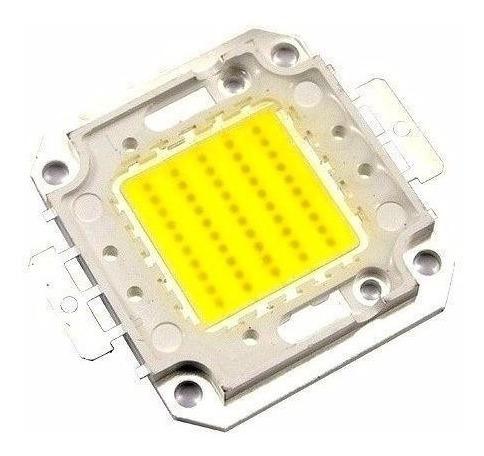 Chip Led Smd 50w - Alta Potencia-branco Frio Para Refletores