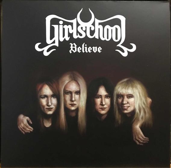 Lp Girlschool Believe - Novo.