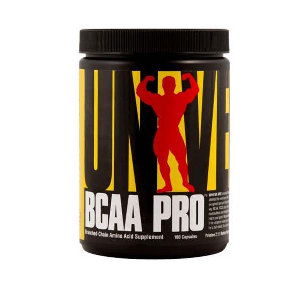 Bcaa Pro Universal Nutrition X 100 Capsulas