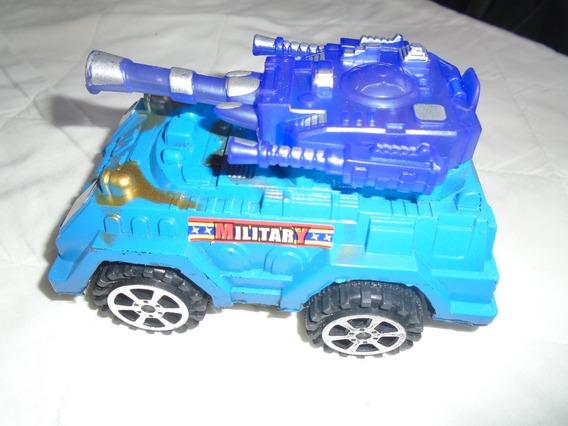 Carro Tanque De Juguete Para Niños Camion Luces