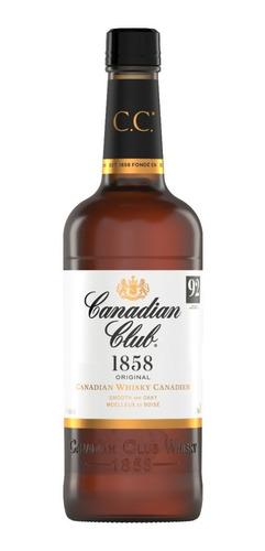 Imagen 1 de 8 de Whisky Canadian Club 750ml 40% Alc