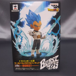 Banpresto Dragon Ball Wcf Burst 05 Vegeta Super Sayan Blue