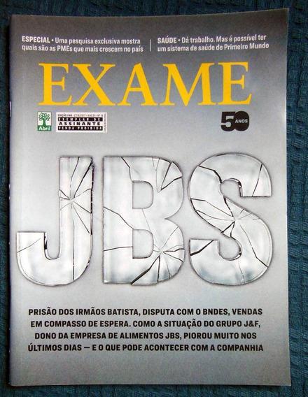 Revista Exame 1146 - 27/09/2017 - Jbs Prisão Irmãos Batista