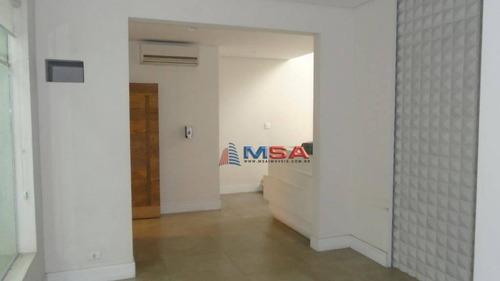 Imagem 1 de 25 de Casa Para Locação Na Avenida Pacaembú. - So0803