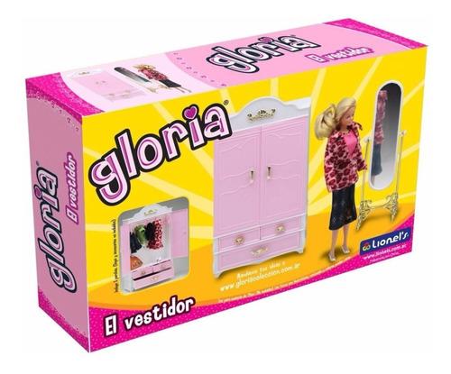 Gloria El Vestidor Para Muñecas Muebles Barbie