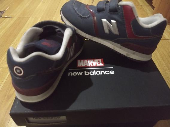 Zapatillas New Balance Capitán América