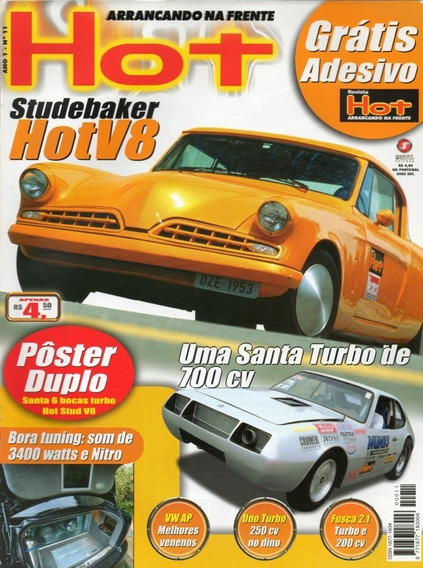 Hot Nº11 Sudebaker V8 Sm Santa Matilde Uno Turbo Fusca 2.1