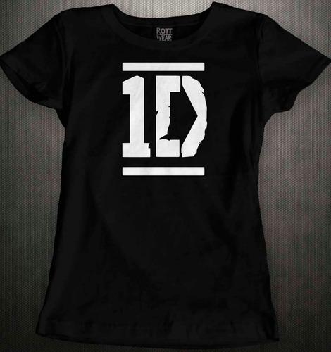 Imagen 1 de 1 de One Direction Playera Dama Rott Wear 1d