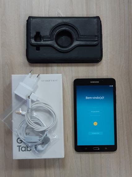 Galaxy Tab A6 7 Wi-fi + Case Giratória + Película De Vidro