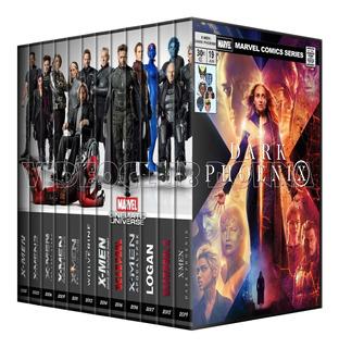 Colección X-men Deadpool Marvel Dvd 12 Logan
