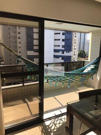 Apartamento À Venda, 160 M² Por R$ 630.000,00 - Parnamirim - Recife/pe - Ap0195