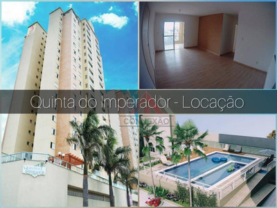 Apartamento Com 3 Dormitórios À Venda E Locação. Quinta Do Imperador - Suzano/sp - Ap0787