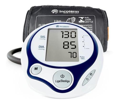 Medidor de pressão arterial digital de braçoIncoterm MB100