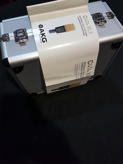 Microfone Akg C414 Xlii - Novinho, Melhor Preço. Completo