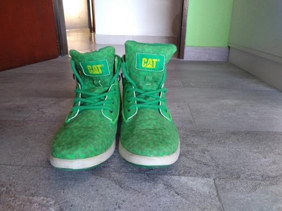 Zapatillas Botitas Verdes Camufladas Caterpillar