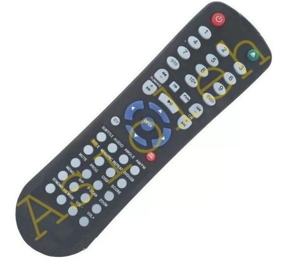Remoto P/ Todo Aparelho Som Micro System Sound C/ Dvd Lenoxx Repõe Repõe Rc-206 Md270 Md-270a Md-2270b Md-270c Md-270s