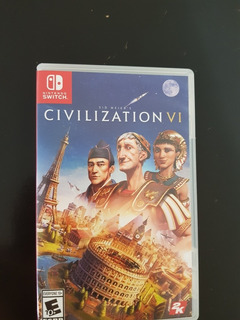 Juego Civilization Vi Nintendo Switch Seminuevo Físico