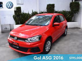 Volkswagen Gol 2016 Cl L4/1.6 I-motion Man P/e