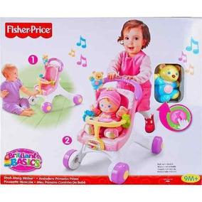Meu Primeiro Carrinho De Bebê Fisher Price Mattel M9523