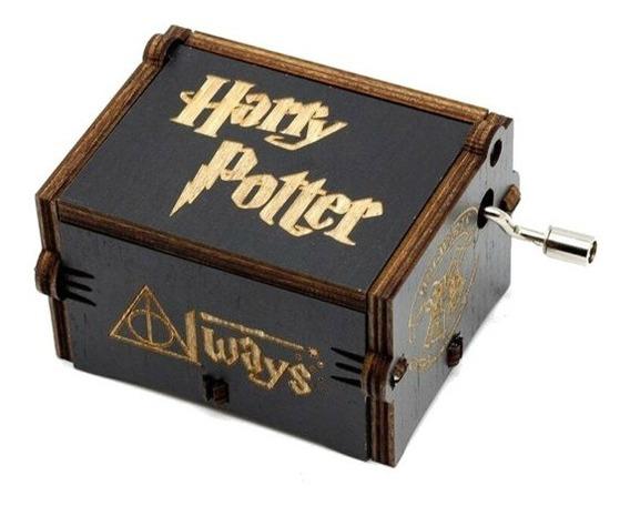 Caixinha Caixa De Música Harry Potter (manivela) Colections