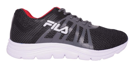 Zapatillas Fila Hombre Running Finder M Graf /negro / Rojo