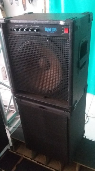Amplificador Staner Baixo - Bold 106 180w Rms