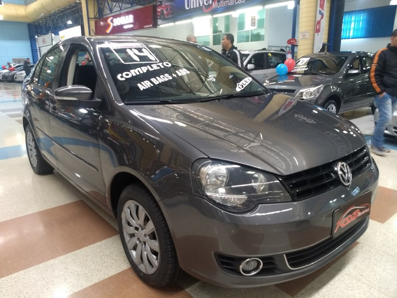 Polo Sedan 1.6 Flex Completo Airbag E Abs E Som Original