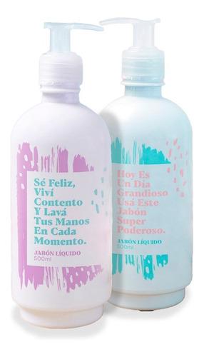 Jabón Líquido Para Manos Té Verde 500 Ml Kit X2