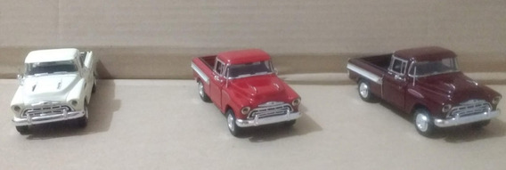 Miniatura Pick-up Chevy Cameo 1/38 Ano 1957