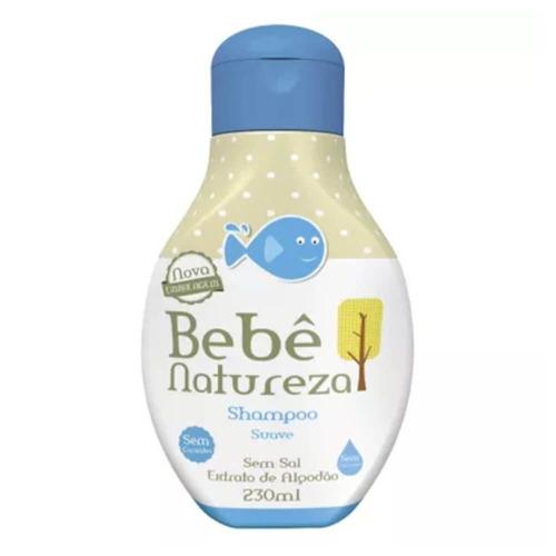 Imagem 1 de 1 de Bebê Natureza Shampoo Suave 230ml
