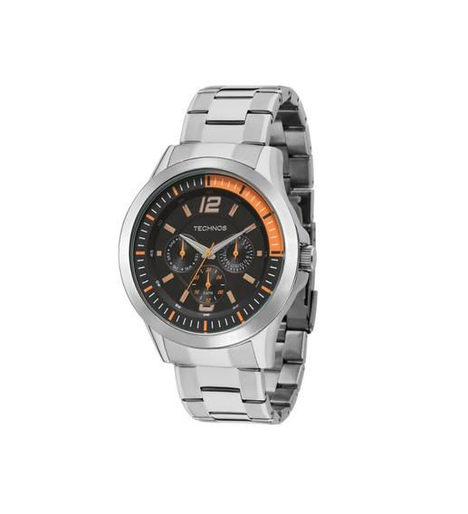 Relógio Technos Masculino Prateado 6p29ahn1l