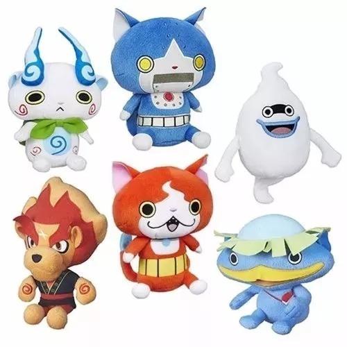 Relógio Yo-kai + Coleção Pelúcia 6 Personagens Hasbro