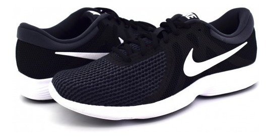 Tenis Nike 908988 001 Black/white-anthracite Revolution 4 2
