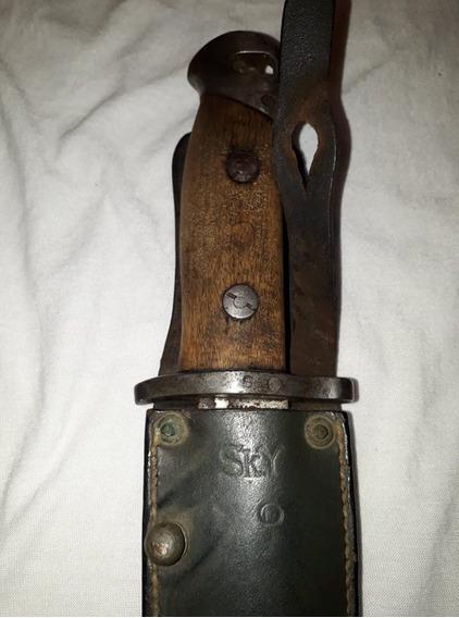 Bayoneta,segunda,guerra,cuchillo,fusil,m39,coleccion,sky,ww2