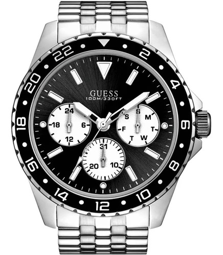 Relógio Guess Masculino 92698g0gsna1 Prata Garantia + Nfe