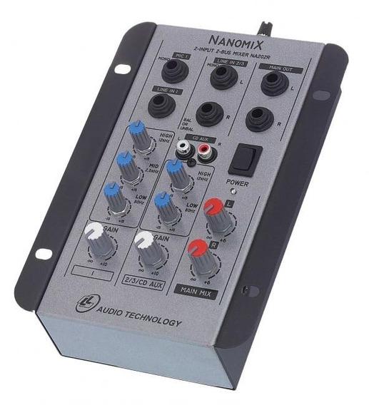 Mesa De Som Mixer Nanomix Ll Na202r
