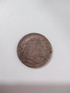 Moneda República De Colombia Indio Calarca 1964