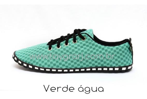 Tênis Taygra Modelo Corrida Comfort Verde Água