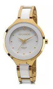 Relógio Technos Feminino Ceramic 2035lyw/4b Original Barato