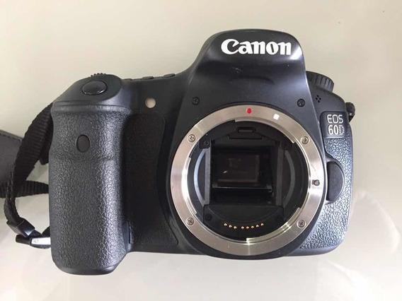 Câmera Canon 60d / Lente 18 135 Mm / Acessórios
