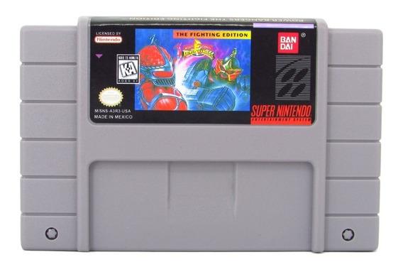 Fita Snes Power Rangers The Movie Super Nintendo Cartucho