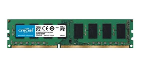 Memoria Ram 4gb Ddr3 1600mhz Sentey Crucial